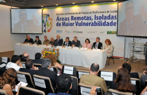Seminar organized by the Ministry of Health in Brasilia on 13 and 14 April