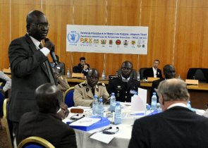 Participants do West Africa Pandemic Readiness and Response Exercise em Dakar, Senegal