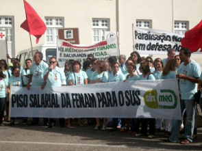 Demonstration held by the State Union of Education Workers of Higher Education - Sintest