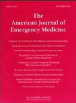 American Journal of Emergency Medicine