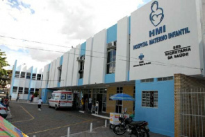 Facade of Mother and Child Hospital (HMI)