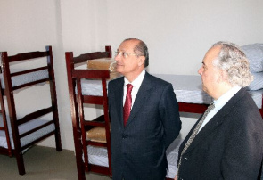 Alckmin, Governor of Sao Paulo in the delivery of beds. New jobs are part of the project the Secretary of State for Health to expand the network of hospitalization for drug addicts in the SUS