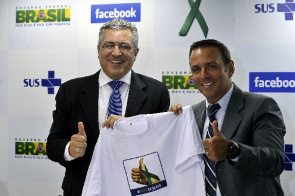 Alexandre Padilha, Minister of Health and Alexandre Hohagen, Facebook's vice president in Latin America