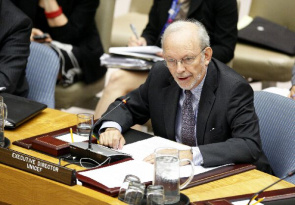 Anthony Lake, diretor-executivo do Unicef.