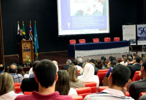 Alexandre Padilha, Health Minister during the inauguration of medical school in east of state capital