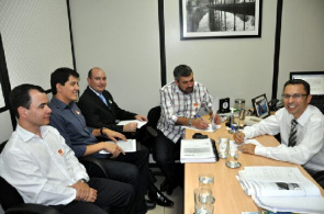 Meeting for the signing of a commitment to the prosecution of Occupational Health