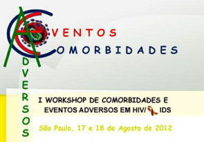 Banner do I Workshop de Comorbidades e Eventos Adversos