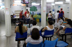 Waiting list for care in Emergency Care Unit (PSU 24) in Botafogo, Rio de Janeiro