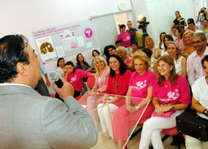 League of Women Against Cancer Prevention and Tocantins Tocantins Rose Movement Launches Campaign
