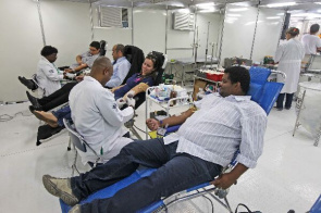 During the two days the Hemorio want to collect 500 units of blood