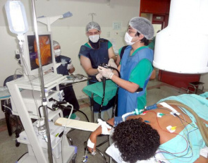 Procedure at General Hospital Public Palmas in which the patient underwent a surgical procedure to remove a calculation endoscopy in the biliary tract by ERCP technique
