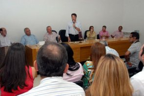 Inauguration of the Assistance Unit for High Complexity in Oncology (Unacon) was attended by the Secretary of National Health Care, Miranda Helvécio