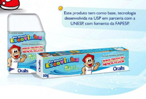 Gel Dental Escovinha com pH baixo