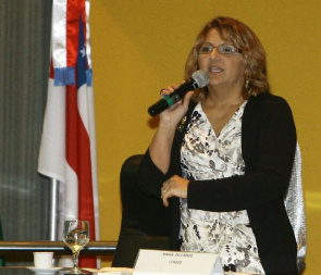 Maria Olivia Simon, chief executive of the Foundation for Research Support of the Amazon.