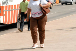 The higher the degree of obesity greater the degree of planning foot