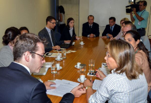 Meeting with representatives of ANVISA and Unilever because of problems with branded products Ades