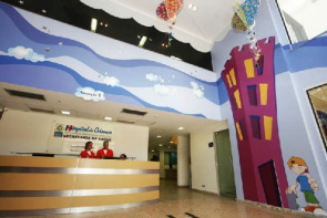 The hospital, located in Vila Valqueire, is the first unit of Rio de Janeiro focused on pediatric care