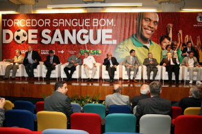 Event was held at the Football Museum in Sao Paulo