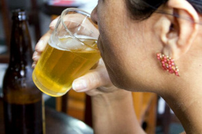 Alcohol consumption among women rose from 29% to 39%
