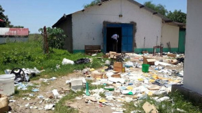 Hospital Doctors Without Borders was destroyed in Pibor, in South Sudan