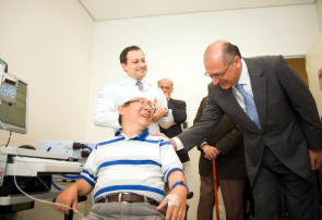 Governor Alckmin inaugurate the Laboratory of Robotics and applied Neuromodulation Rehabilitation