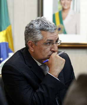 Alexandre Padilha, Minister of Health, during the meeting