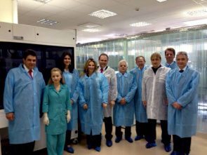 Delegation visit to Paraná Brazil Biocad to tune in Russia cooperation agreement.