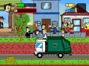 Pueblo Pitanga game screen shows character during awareness in your community