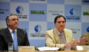 Health Minister Alexandre Padilha and Secretary of Health Surveillance, Ministry of Health, Jarbas Barbosa, disseminate the results of research Vigitel 2012