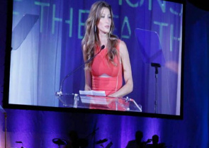 Gisele Bundchen at the ceremony of delivery of awards Champions of the Earth