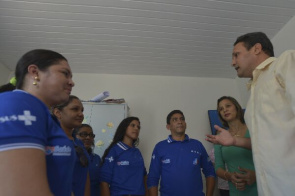 In Chapadinha, in the state of Maranhão, Cuban doctors in the first phase of the program know the clinic