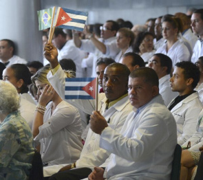 Overseas trained doctors began arriving on Saturday (26), where the states will work