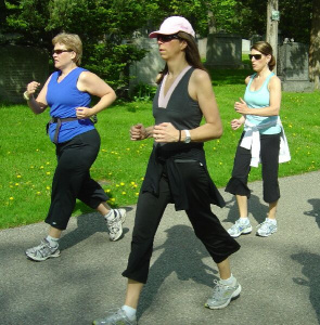 Women who reported walking at least seven hours a week had a 14% lower risk of breast cancer