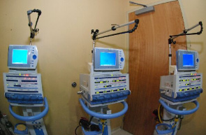 Equipment recently received to maternity