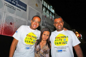 The winners of Dengue Funk, held in Belford Roxo